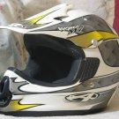 ANSWER Motocross Off Road Motorcycle Helmet Sz SM Used