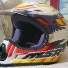 MSR OFF ROAD Motocross Helmet Sz XL Used Motorcycle