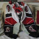 ARC Corona Motocross Racing Pants Sz 28 Red Black Used