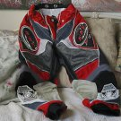 ARC Motocross Racing Pants MX220 Sz.28 Red Black Used