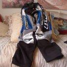ONEAL Motocross Racing Pants Size 28 Blue Black Grey