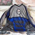 MOTOCROSS SHIRT Moose Racing Black Grey Purple Sz  XL
