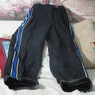 O'NEAL Black Motorcycle Pants and Blue Strips Sz 32 Used