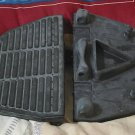 HARLEY DAVIDSON Motorcycle Passenger Footboard Pads Used