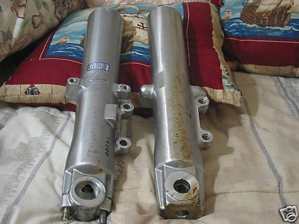 HARLEY DAVIDSON Motorcycle Polished Fork Sliders Used
