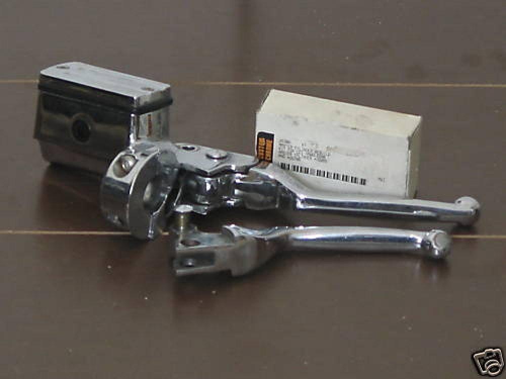 HARLEY DAVIDSON Chrome Front Master Cylinder Lever Used