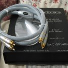 HD BASICS Precision Audio Cable 3 ft Stereo RCA Male