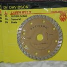 Davidson Turbo Cutting Diamond Blade 4 in Set Of 3