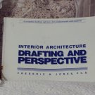 DRAFTING and PERSPECTIVE Interior Architecture Study Book Used
