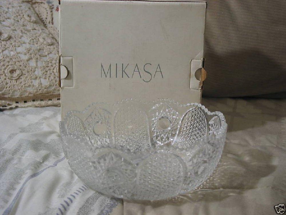 MIKASA Cheshire SA 546 258 Crystal 8 Inch Bowl