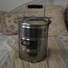 SHANGHAI 555 Steamer Cooking Pots Stacked Stainless Small