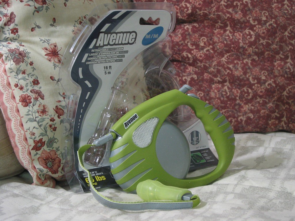 AVENUE Retractable Dog Leash 16ft Green 65 lb Pet Walk