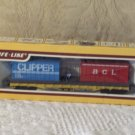 LIFE LIKE Electric Railroad Train Flat Car Containers