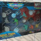 MICRO MACHINES Star Trek Space Ships Set Galoob 1993