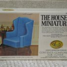 XACTO HOUSE OF MINIATURES Wing Chair 1976 No 40016