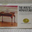 XACTO HOUSE OF MINIATURES Tea Table 1978 No 40039