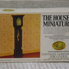 XACTO HOUSE OF MINIATURES Tall Clock 1976 No 40018