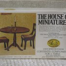 XACTO HOUSE OF MINIATURES Round Table 1976 No 40005