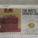 XACTO HOUSE OF MINIATURES Hutch Cabinet 1976 No 40003