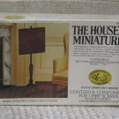 XACTO HOUSE OF MINIATURES Fire Screen 1977 No 40021