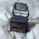 DURHAM Miniature Dollhouse Metal Furniture Number 32 Dresser