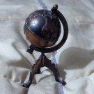 DURHAM Miniature Dollhouse Metal Furniture Number 28 Floor Globe