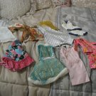 BARBIE DOLL Clothes Lot No Tags Dresses Outfits 70s