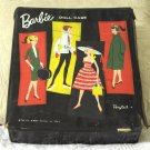 Black Ponytail Barbie Doll Case 1961 Damaged