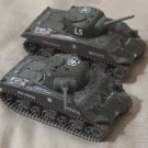CORGI 2 M4 Sherman Spiteful Tank Circa 2002 No Box Used