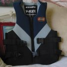 STEARNS Life Vest Jacket Preserver Blue Grey Black Size Med