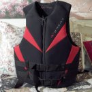 O'NEAL Life Vest Jacket Size 43 to 45 inches Red Black Used