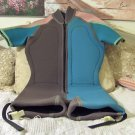 SPORTS SKINS Buoyancy Compensated Wind Surfing Wet Suit