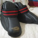 MASTERLINE Martial Arts Black Sparring Foot Pads Sz S