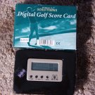 DIGITAL Golf Score Card Electronic Club Ball Wood Used