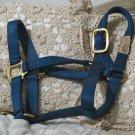 FABTRON Blue Nylon Horse Halter Tack Pony 800 lb Used