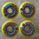 HYPER PRO 250 Inline Skate Hockey Wheels 84A 72mm Set 4