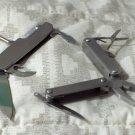 MULTI POCKET TOOL Pliers Head Plus Multi Function Folding Knife Used