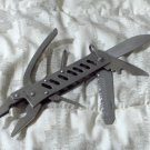 MULTI POCKET TOOL Pliers Head Plus 5 Accessory Knife Tools Used