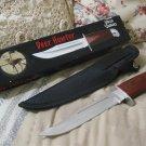 FROST CUTLERY Deer Hunter Knife w Sheath Unused