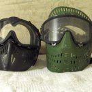 PAINTBALL 2 Marker Face Mask Goggles Java JT Used