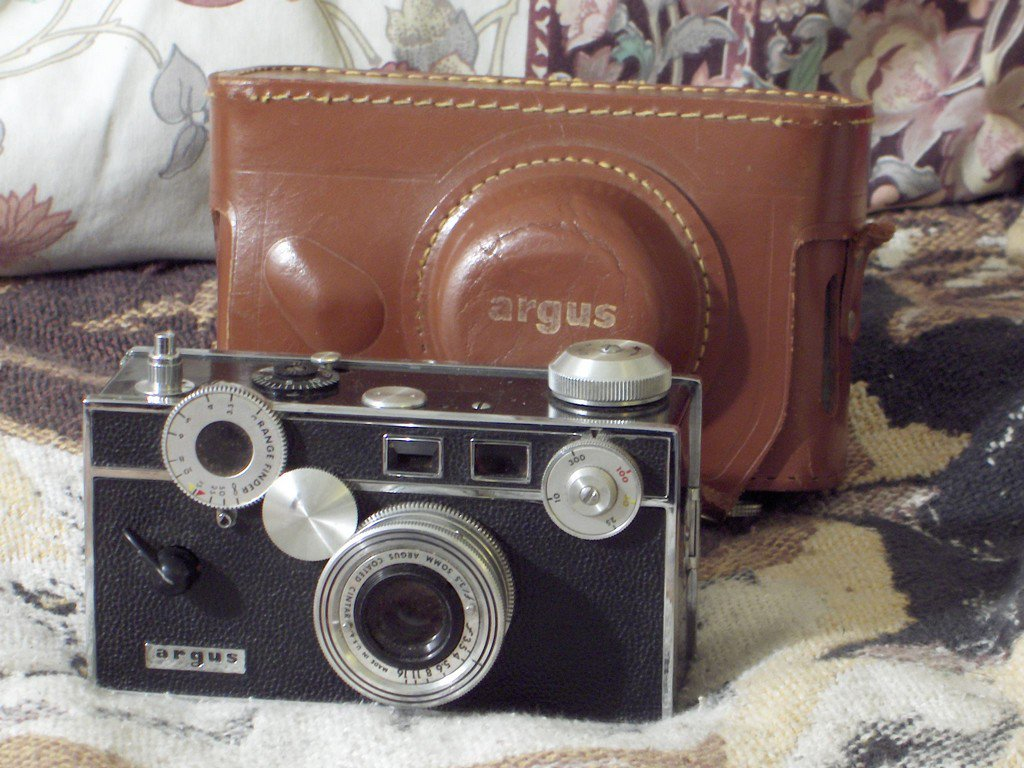 ARGUS Vintage 35mm Camera Photography Photo Film Lens