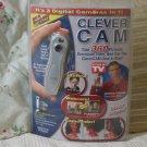 CLEVER CAM Digital Camera Webcam Camcorder Unused