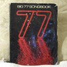 BIG 77 Songbook Sheet Music 77 Songs Mellow Rock Used