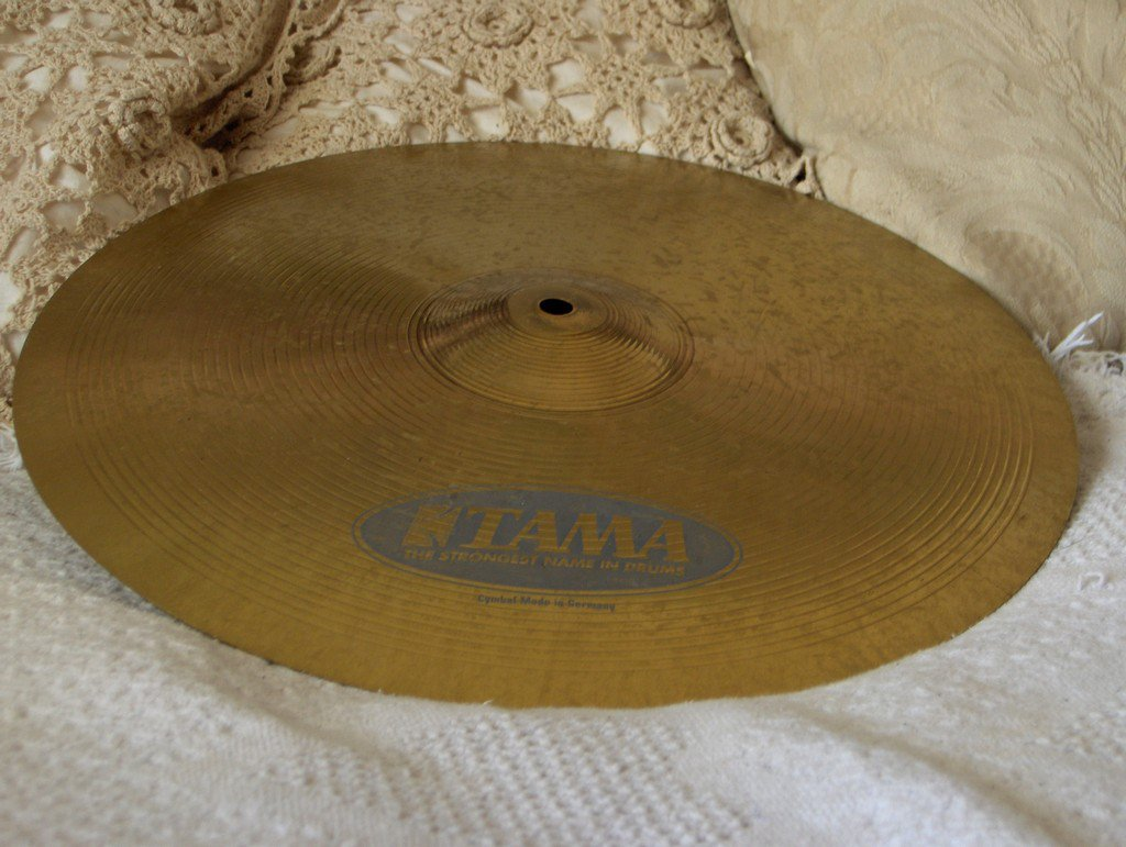 TAMA 16 inch Drum Crash Cymbal Germany Used