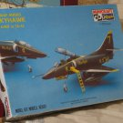 BLUE ANGELS Skyhawk A4E/F Airplane Model Kit Minicraft / Hasegawa 1/72