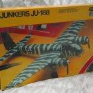 JUNKERS JU88 German Military Airplane Model Kit Testors 1/72