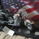 FRANKLIN MINT Harley Davidson Heritage 1 10 Scale Model Broken