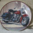 HARLEY DAVIDSON Pan Head Franklin Mint Decor Plate
