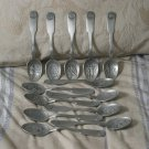 FRANKLIN MINT 13 Colony Set of Pewter State Spoons