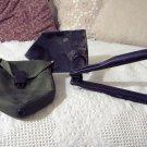 U.S. Military Surplus Folding Shovel Carry Case Used